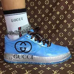 is your one-stop destination for a bizarre take on luxury labels. Sock Shoes, Cute Shoes, Me Too Shoes, Baskets, Bold Logo, Gucci, Vogue, Shoe Game, Fashion Addict