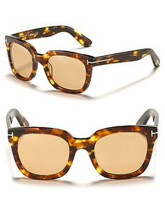 "Tom Ford ""Campbell"" Wayfarer Sunglasses"