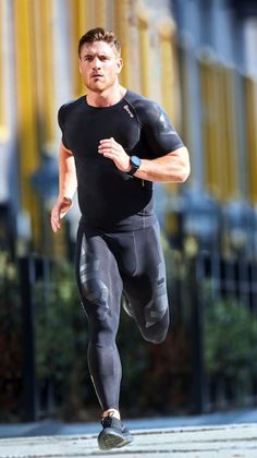 Men's Training Gear: Photo Sport Style, Gym Style, Sport Fashion, Fitness Fashion, Fitness Man, Fitness Bodies, Lycra Men, Lycra Spandex, Hommes Sexy