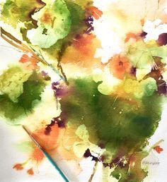 NASTURTIUM FLOWER Art Print, Birthday, Wedding, Love, Anniversary, Wildflowers, Herbs, Home Decor, Interior Design, Wall Art, Boho Chic Art by PamelaHarnoisArt on Etsy https://www.etsy.com/listing/115973301/nasturtium-flower-art-print-birthday