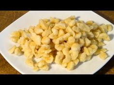 Spätzle / Knöpfli selbst gemacht / Rezept Video / Anleitung - YouTube