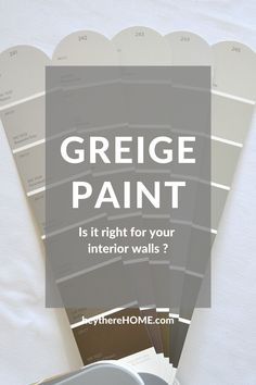 The best explanation I've ever read about how to choose the right paint color! #wallcolor #greige #paint #neutral #choosepaint #interiorpaint via @heytherehome.com Neutral Wall Colors, Greige Paint Colors, Best Paint Colors, Room Paint Colors, Paint Colors For Home, House Colors, Interior Color Schemes, Interior Paint Colors, Interior Design