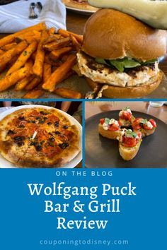Wolfgang Puck Bar & Grill Review | Our First Restaurant Back at Disney World Disney World Food, Disney World Restaurants, Bacon Onion Jam, Pizza Kitchen, Disney World Tips And Tricks, Bar Grill, Disney Springs, Menu Restaurant, Kitchens