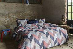 Beddinghouse Dawson Dekbedovertrek - lits-jumeaux - 240x200/220 - Rood
