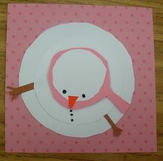 Perspective Winter art Project & writing idea: what a snowman sees OR what he wants to do before he melts