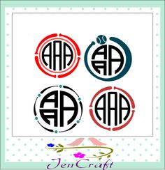 Baseball Monogram Frame SVG,Dxf,Eps,Png Softball, Monogram Frame svg,Baseball frame,bat, player Monogram designs for Silhouette Cricut DS by JenCraftDesigns on Etsy