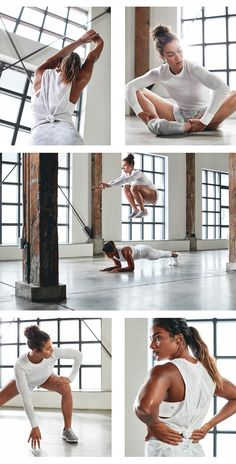Mahina Garcia & Catrina Judge Workout — Matt Korinek