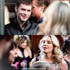 """#TheOriginals 2x04 """"Every Mother's Son"""" - Klaus and Cami"""