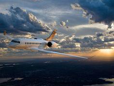 Stark International's transatlantic Lear Bombardier Global 8000