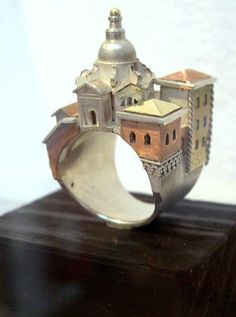 Ring by Vicki Ambery-Smith, part of Portage: Finger Symbols from Shetland Arts