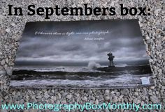 "In every September box: a custom art poster featuring the photography of @johnmillekerphotography and the classic Alfred Stieglitz quote ""Where there is light one can photograph"". #photography #photographybox #photographer #photographers #photographerlife #startup #startups #subscriptionbox #subscriptionboxes #baltimorebusiness #baltimore #smallbusiness #myphotobox #startuplife #history by photo_box12"