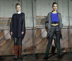 (5) NITZ SCHNEIDER - Mercedes-Benz Fashion Week Tokyo: Japan Fashion Week: Denim & Jeanswear 2013-2014 Fall Winter Womens Runways I
