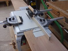 CMS Feather Boards, Twin Angle Stop Fence, Table Extensions