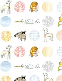 such a cute pattern idea for childrens bedding! #patterns