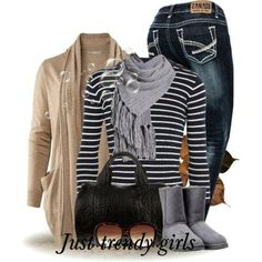 winter casual college, Casual styles for college girls http://www.justtrendygirls.com/casual-styles-for-college-girls/
