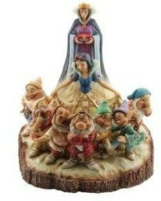 Snow White and the Seven Dwarfs figurine