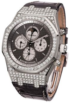 Royal Oak Grande Complication Diamond and White Gold Men's Watch
