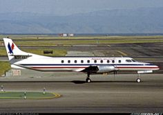 American Eagle Fairchild Swearingen SA-227AC Metro III, Delivered new to Wings West in June 1987 and operated for American Eagle until May 1992.  	 San Francisco - International (SFO / KSFO) USA - California, March 30, 1988