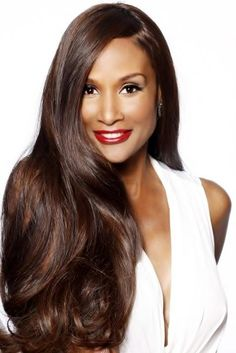 Luxury lovely Graceful African American Beverly Johnson's Long Curly Full Lace Wig 100% Real Human Hair About 22 Inches : wigsbuy.com