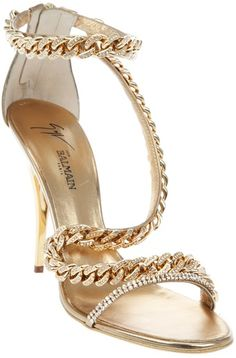 Balmain Jewel Chain Stiletto