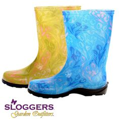 Platt Hill Nursery carries a large selection of Sloggers.