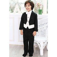 menino sets casamento portador do anel ternos smoking preto vistoso (1315346) – BRL R$ 277,97
