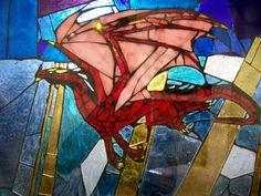 stained glass dragon - Google-søk