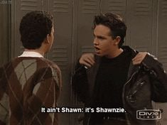 7 GIFs of Shawn Hunter being the best on 'Boy Meets World'
