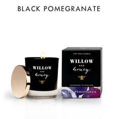 NEW // Black Pomegranate Candle