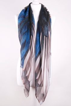 if anyone wants to treat me ! i love this  Silk chiffon scarf featuring 3689c34071bc