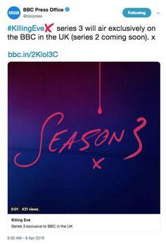 killing eve season 3 date
