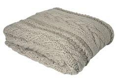 Elsham Chunky Knit Blanket