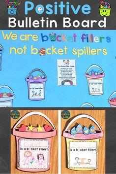 Bucket Filling Activities, Bucket Filling Classroom, Small Group Activities, Sorting Activities, Bullying Activities, Educational Activities, Classroom Activities, Classroom Decor, Bucket Filler Book