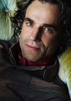 ♂ Man portrait face of Daniel Day Lewis by Mario Testino