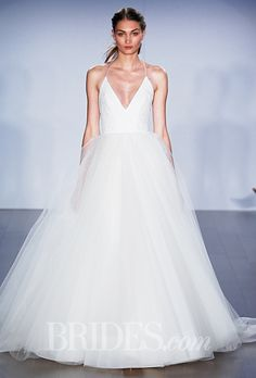 A @jlmcouture #weddingdress fit for a ballerina | Brides.com