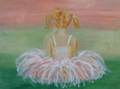 Ballerina Little Girl Rooms, Little Girls, Ballerina Room, Paint And Sip, Tiny Dancer, Creativity, Ballet, Paintings, Pink