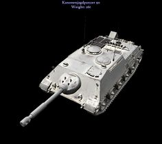 By 1960, the M47 Patton old 90 mm was still a potent weapon. Pending replacement in the Bundeswehr, it was decided to reuse it in German-made tank-hunters. General design tended to be close to the very successful WW2 era Jagdpanzer IV.