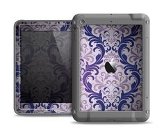 The Royal Purple Laced Wallpaper Apple iPad Air LifeProof Fre Case Skin Set from Design Skinz