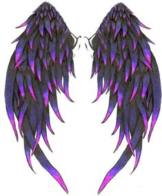 Angel Wings High Quality Photos And Flash Designs Of Tribal Angel Tattoo to use and take to your artist. Feather Tattoos, Body Art Tattoos, Cool Tattoos, Skull Tattoos, Wing Tattoos, Tattoo Wings, Sleeve Tattoos, Angle Tattoo, Beautiful Angel Tattoos