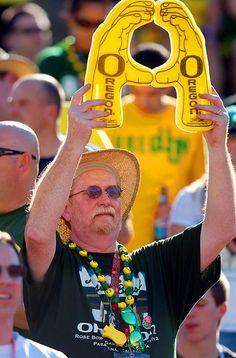 Oregon Ducks fan