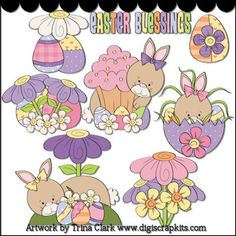Easter Delights 1 Clip Art