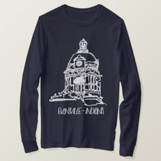 Evansville Indiana Old Courthouse T-Shirt - cyo diy customize unique design gift idea