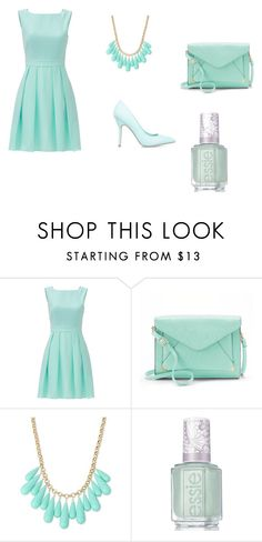 """""""dance"""" by carrie-willis-1 on Polyvore featuring Kate Spade, ShoeDazzle, Apt. 9, INC International Concepts and Essie"""
