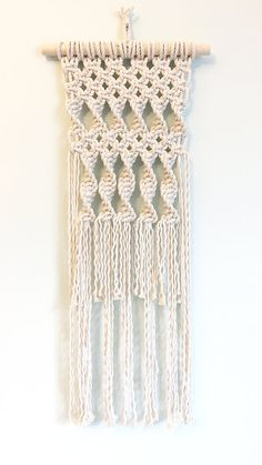 Macrame Kit DIY Kit DIY Gift Macrame Cord by amyzwikelstudio