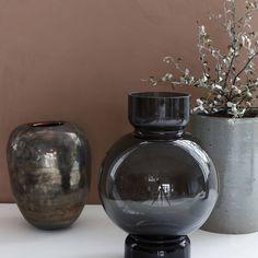 Ronde Bolle Glazen Vaas.83 Beste Afbeeldingen Van Vazen Vazen Bloom En Blauwe Vazen