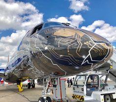 Embraer new livery for Paris Airshow. Plane Photos, Air Show, Aircraft, Clouds, Paris, Gallery, Instagram, Aviation, Montmartre Paris