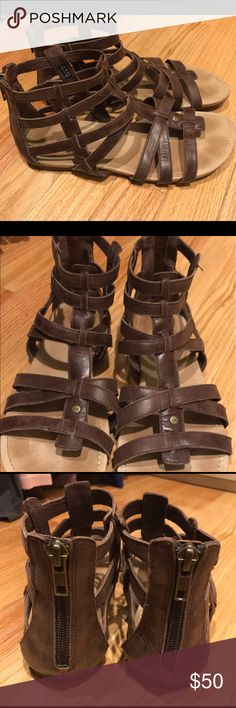 UGG Gladiator Sandals Gently used UGG Gladiator Sandals. Very comfortable and cute. UGG Shoes Sandals
