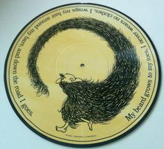 Shel Silverstein Where The Sidewalk Ends Picture Disc LP