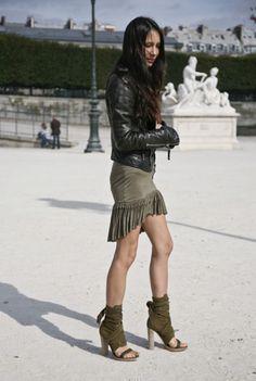 Melanie Huynh in Altuzarra, Paris