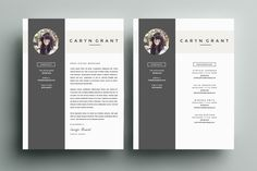 Resume Template 4 Pack | CV Template by Refinery Resume Co. on @creativemarket